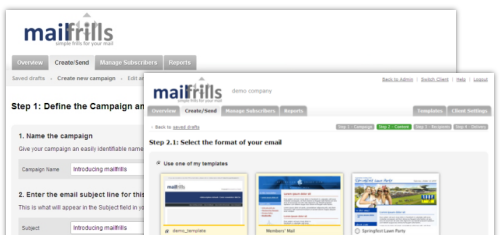 Take control with mailfrills